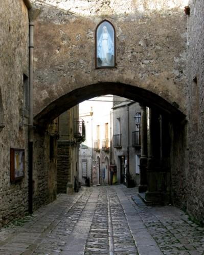 Erice - per le strade del borgo