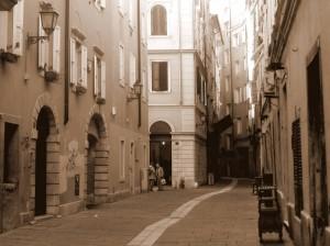 Nell' antico ghetto