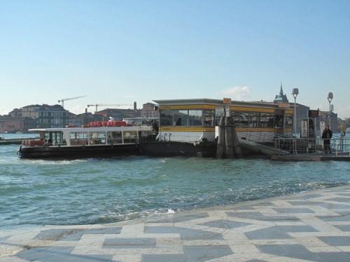 Venezia - Bus stop.