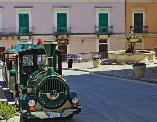 Ragusa - Trenino in piazza