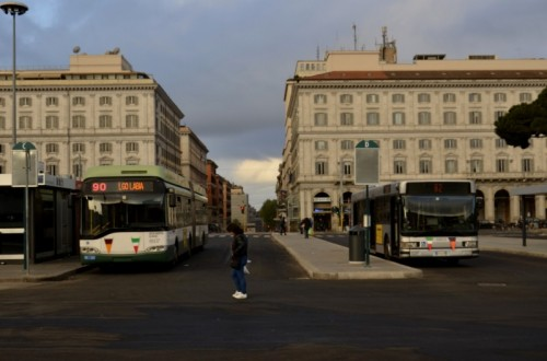 Roma - tra un po' si parte