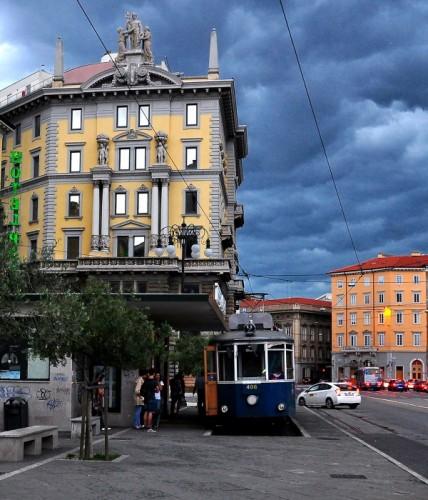 Trieste - El tram de Opcina
