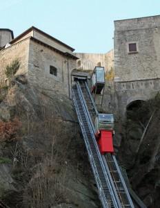 Funicolare del forte di Bard