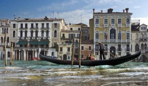 Venezia - Navigando nel Canal Grande