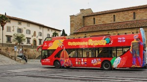 il  Citysightseeing a Fiesole