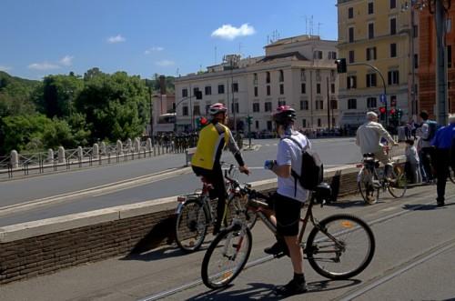 Roma - a fine parata