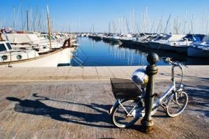 ombra in bici