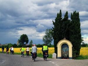 La biciclettata
