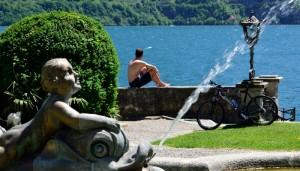 Bici+bagno+fontana