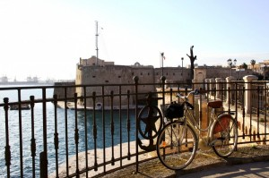 In bici al Castello