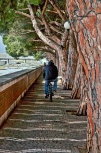 pista ciclabile personalizzata