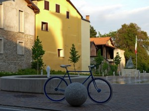 La bici…..Blu!