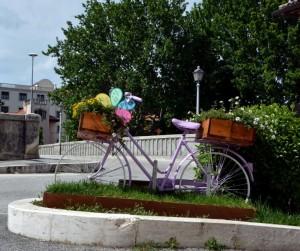 La bici e il verde cittadino