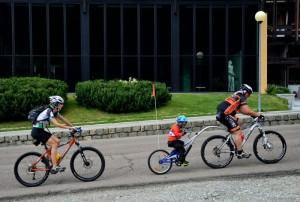 Una famiglia molto sportiva