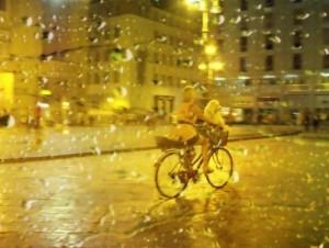Dopo la pioggia …. da dietro un vetro