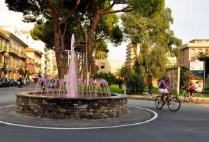 La fontana rosa