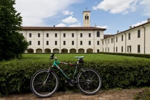 Una bici a corte