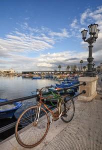 Una Bicicletta abbandonata a 'Nder a la Lanza