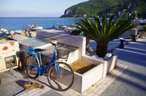 la bici del pescatore…