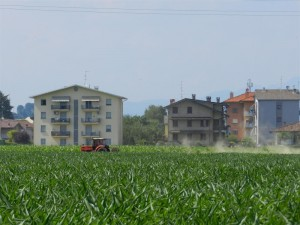 Case, campagna, lavoro, terra, verde …