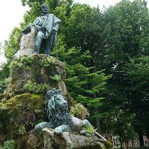 Garibaldi e il leone