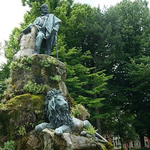 Venezia - Garibaldi e il leone