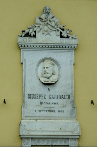 Roccabianca - A Giuseppe Garibaldi