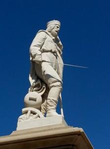Garibaldi nel blu