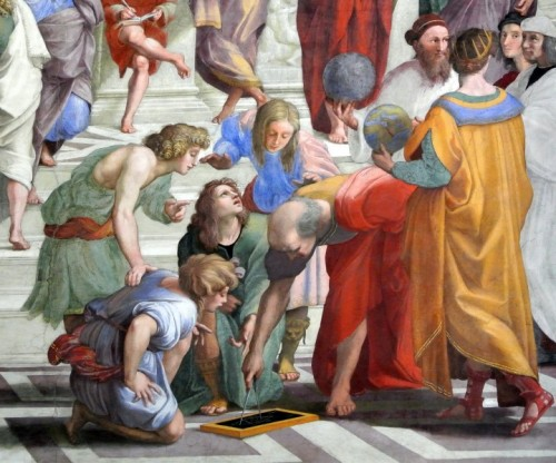 Roma - Lavagna e compasso
