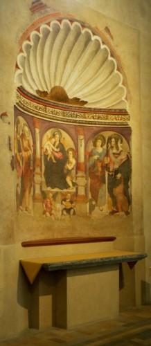 Aosta - Altare di Santa Lucia