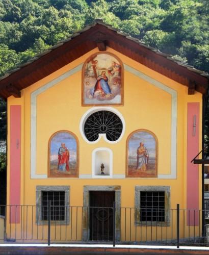 Fontainemore - Cappella di Saint Roch