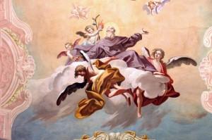 S. Antonio tra gli angeli