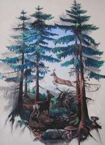 il daino & il cervo