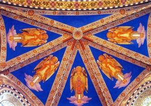 angeli della volta della chiesa S.Antonio da Padova