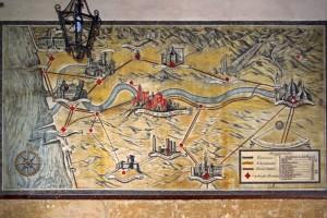 vecchia cartina stradale