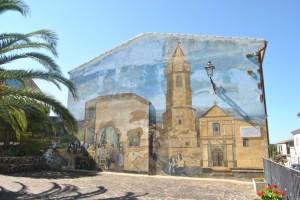 Murales in Piazza Padre Pio