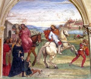 S. Benedetto va a Roma