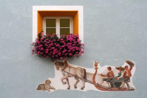 Ortisei - La slitta dipinta