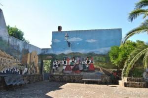 murales in piazza Padre Pio 02