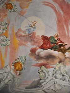 Visione della Vergine a  San Giovanni Evangelista