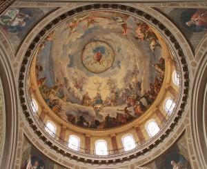 Affresco della cupola