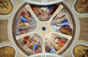 Soffitto parrocchia Pieve di Marebbe