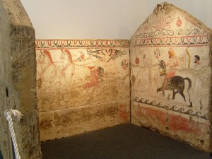 Paestum  tomba  del 340/330 a.C.