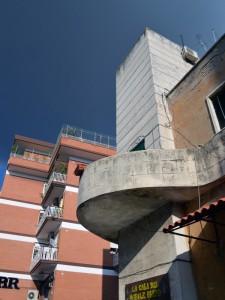 ex casa del fascio di via portuense
