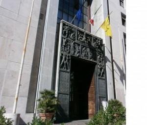 Palazzo della Provincia. Portale.
