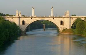 Ponte Flaminio.