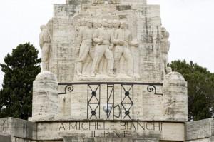 A Michele Bianchi (unico monumento in Italia ad un gerarca fascista)