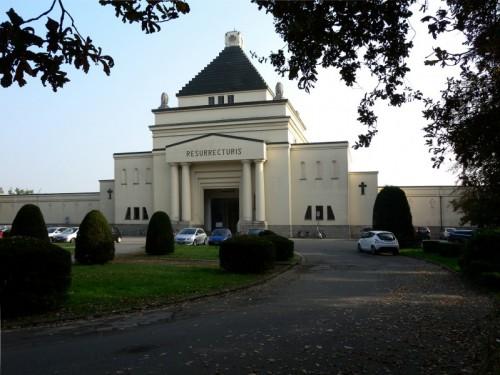 Codogno - Ingresso monumentale del Cimitero di Codogno