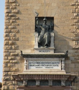 Torre dei caduti : l' Italia vittoriosa