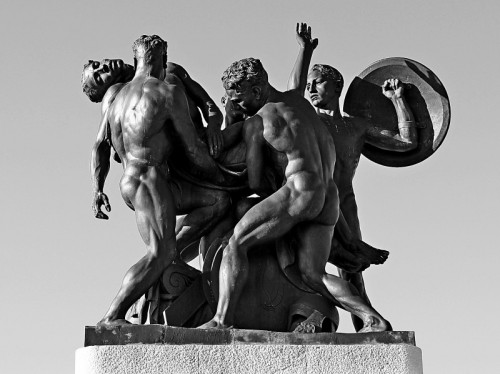 Trieste - il Monumento ai Caduti a San Giusto